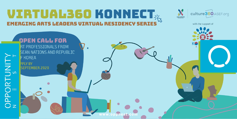 Photo of Virtual360 Konnect – Emerging Arts Leaders Residency Series: Open call