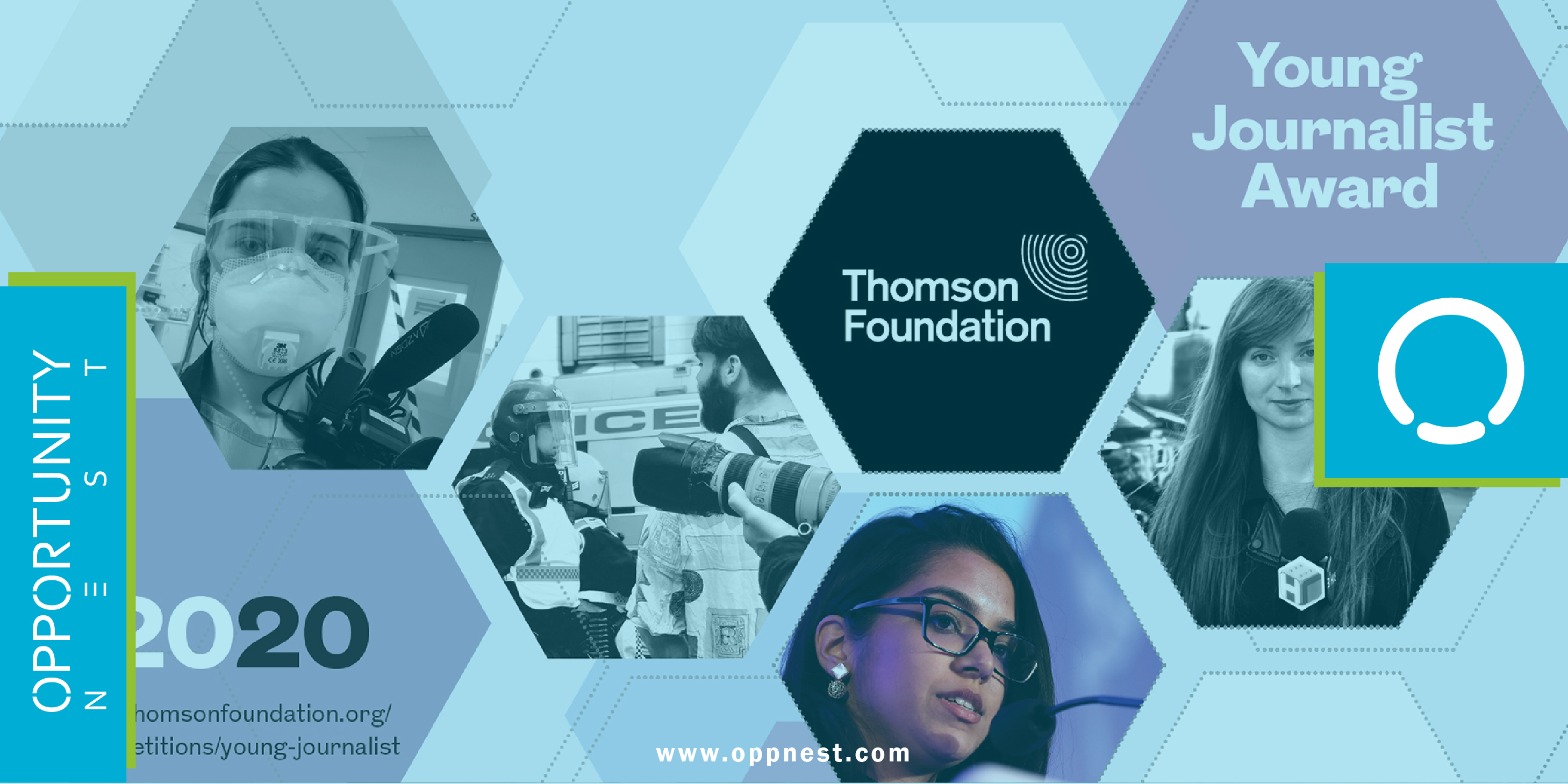 Photo of THOMSON FOUNDATION – Young Journalist Award