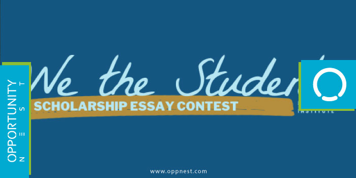 Photo of 2021 We the Students Essay Contest