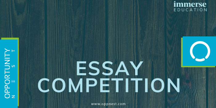Photo of The Immerse Education Essay Competition 2021