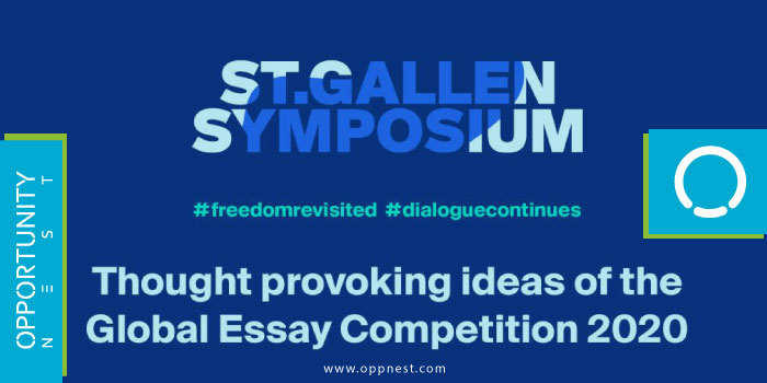 Photo of St. Gallen Symposium Global Essay Competition 2021