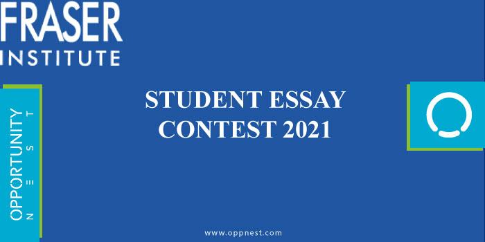 Photo of Fraser Institute Student Essay Contest 2021