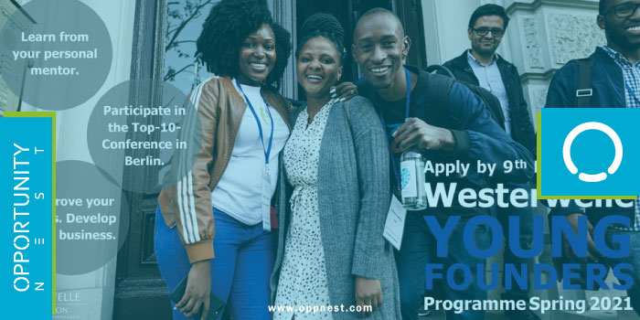 Photo of Westerwelle Young Founders Program- Spring 2021