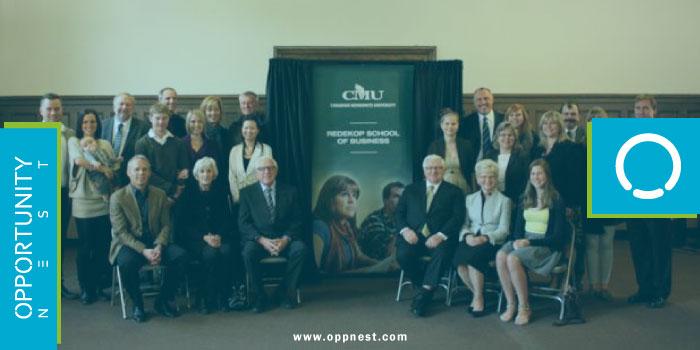 Photo of CMU Business Merit Award