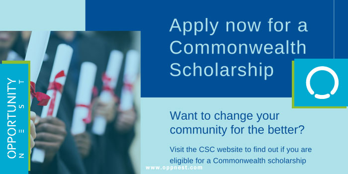 Photo of Commonwealth PHD Scholarships (For least developed countries and Fragile states)