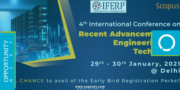 Photo of 4th International Conference on Recent Advancements in Engineering and Technology (ICRAET-2021)
